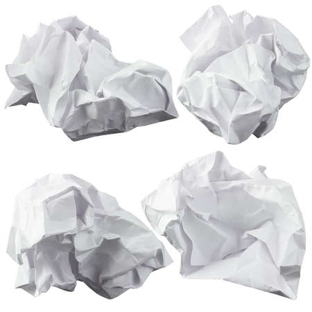 wastrel: Crumpled paper  Four lump  The design elements