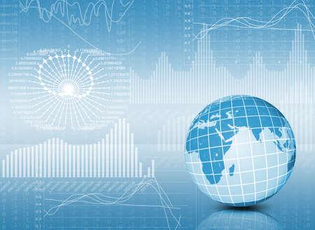 econom�a: Tierra y gr�ficos El concepto de la econom�a global