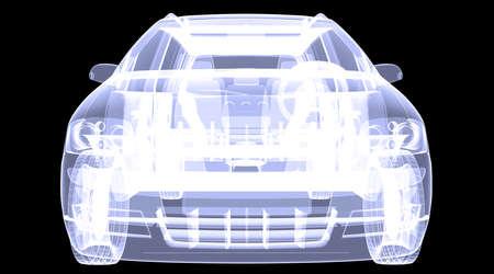 X-ray concept car photo