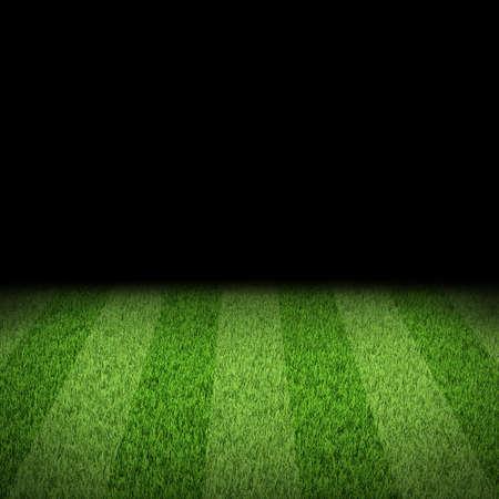 Night football arena  Striped field  Sports background 写真素材