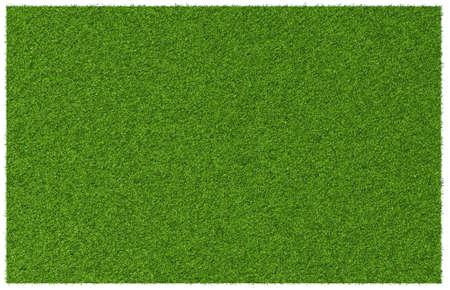 Bovenaanzicht hoek van groen gras weide