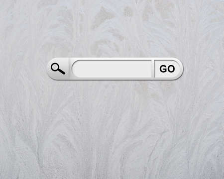 page up: Search bar in browser Stock Photo