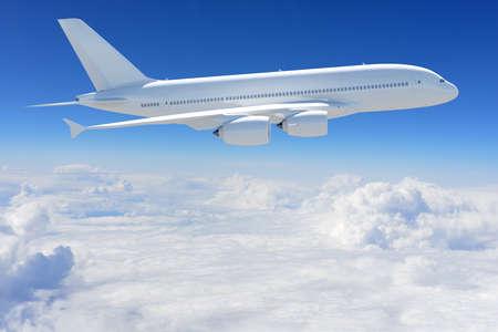 Flugzeug in den Himmel Standard-Bild - 31333907