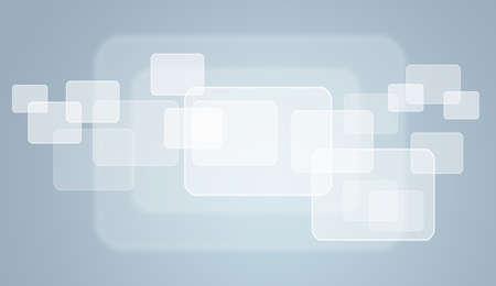 randomness: Transparent rectangle frames