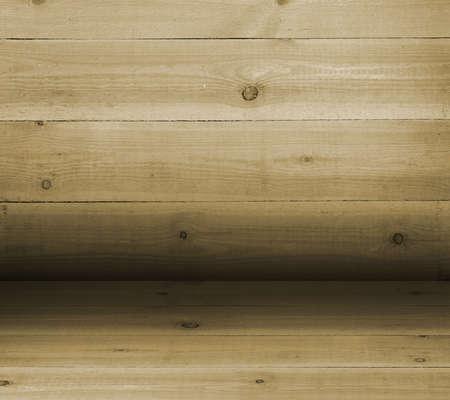 convexity: Convex texture nailed wooden railing. Gradient as backdrop