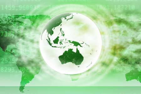 Abstract green background with world map and numbers fotos retratos earth on abstract green background with world map photo gumiabroncs Images