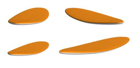 siervo: Conjunto de tablas de servidumbre aislado en el fondo blanco