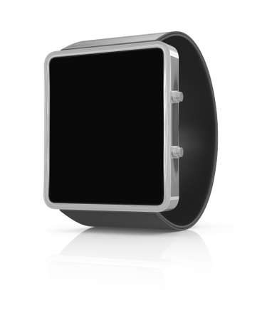 new technology: Smart watch new technology electronic device. 3D illustration