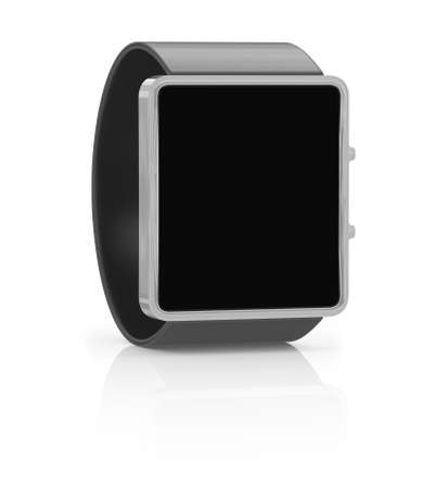 bangles hand: Smart watch isolated on white background. 3D illustration