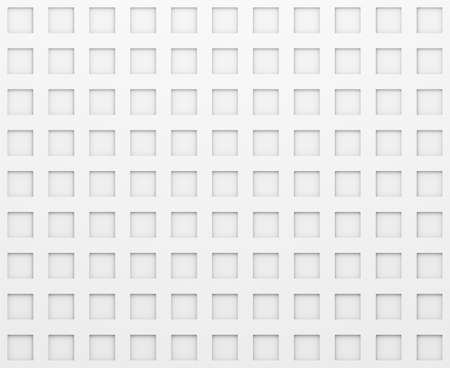 rectangle: White Texture With Rectangle Pattern