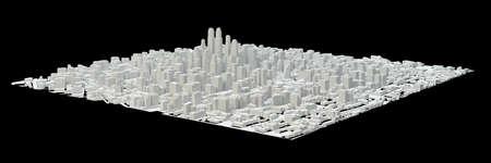 White City Buildings Stock Photo