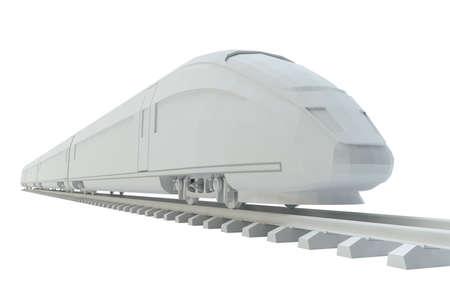 Witte hogesnelheidstrein
