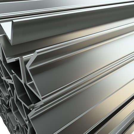 Rolled metal L-bar