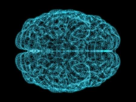 Concept of human intelligence Stock Photo