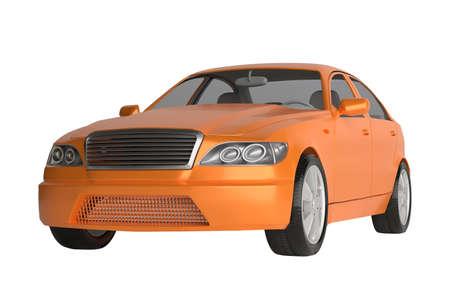 Generic brandless sports car