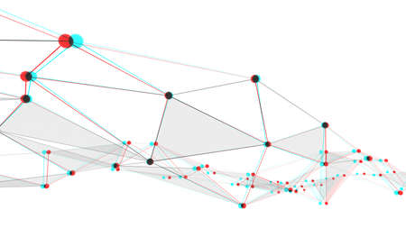Concept of networks, technology or business