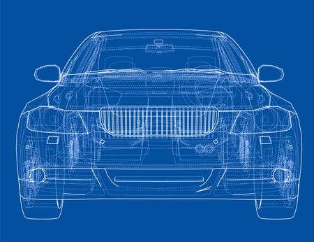 Concept car outline
