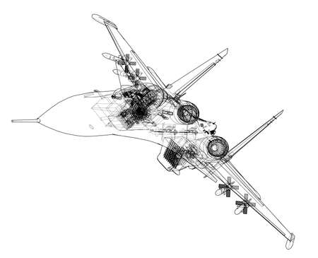 Fighter plane concept