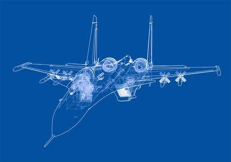 Fighter plane concept