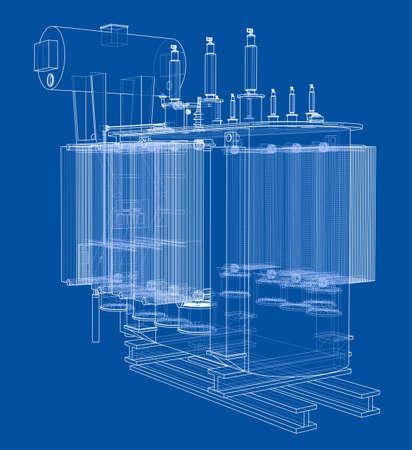 High-voltage machine concept