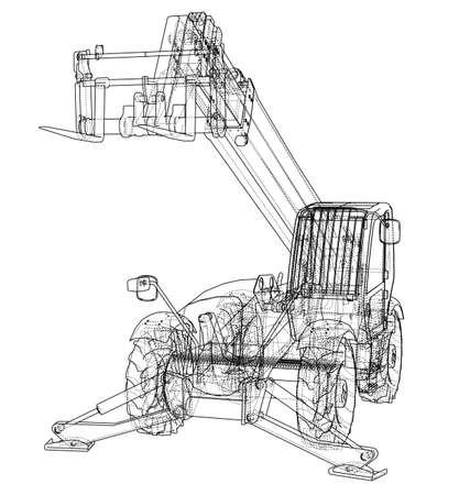 22145 Transportation Frame Stock Vector Illustration And Royalty