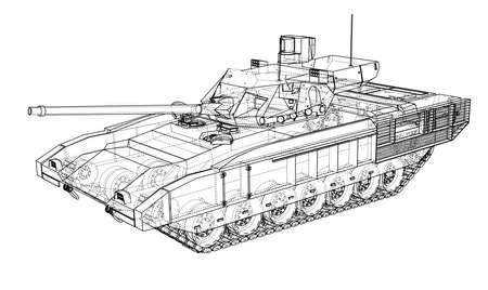 Plano del tanque realista