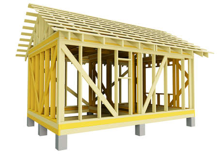 Home Construction, isolated
