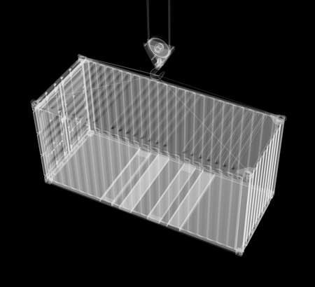 X-ray shipping container