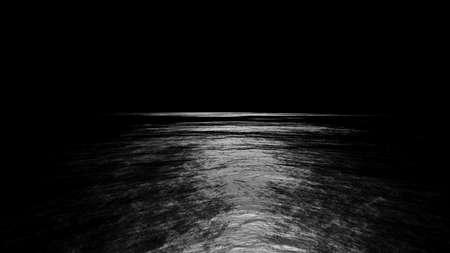 Black Background with Spotlight. 3D illustration