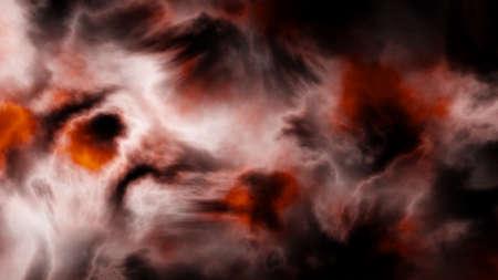 Beautiful red nebula. No stars