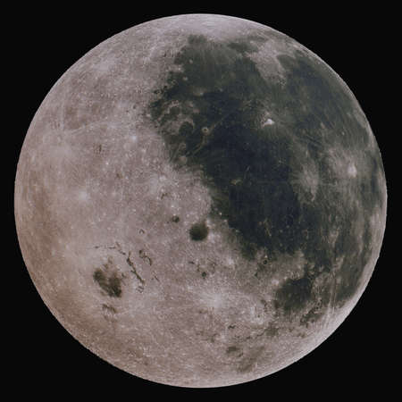 The Moon is the Earths satellite. Isolated