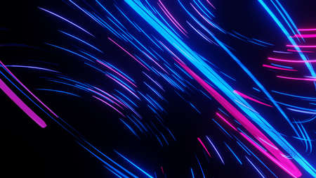 Lights and stripes moving fast abstract design Stockfoto