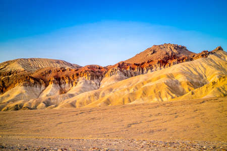 Mountain Ridges in Death Valley National Park Stock Photo