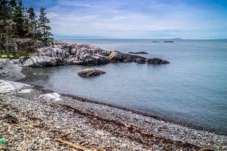 The lovely Duck Harbor Isle au Haut in Acadia National Park, Maine