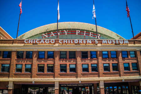 Chicago, IL, USA - July 8, 2018: The Chicago Childrens Museum