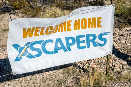 Rodeo Grounds, AZ, USA - January 11, 2020: The Xscapers Annual Bash 新聞圖片
