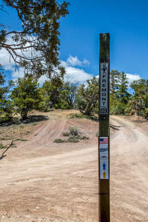 Dixie National Forest, UT, USA - May 24, 2020: The Fremont Mountain Trail