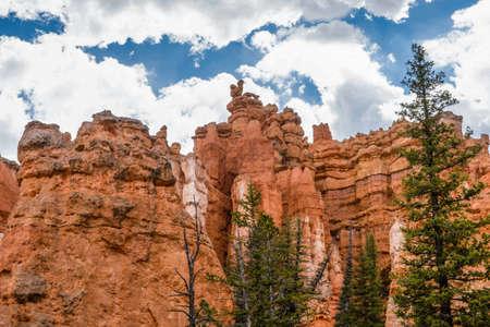 Red Rocks Hoodoos in Bryce Point at Bryce Canyon National Park, Utah 版權商用圖片 - 168414676