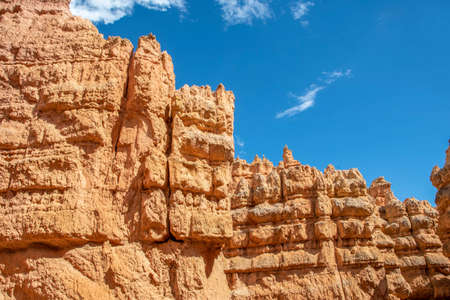 Red Rocks Hoodoos in Bryce Point at Bryce Canyon National Park, Utah
