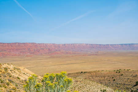 An overlooking landscape view of Grand Canyon National Park, Arizona 版權商用圖片