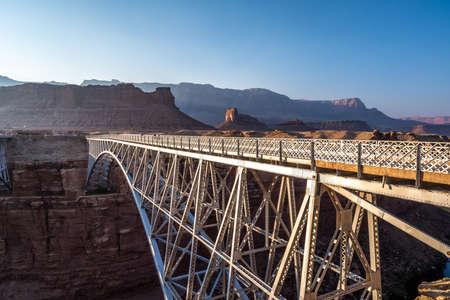 The Navajo Bridge in Glen Canyon National Recreation Area, Arizona