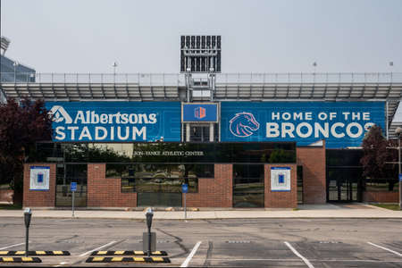 Boise, ID, USA - July 25, 2021: The Albertsons Stadium Editorial