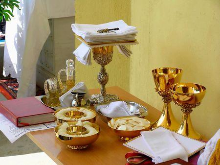 Preparaci�n de los temas para los cat�licos Divino servicio