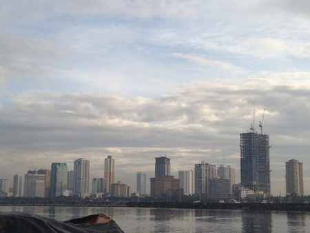 architecture: Manila Bay Philippines