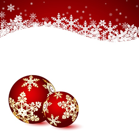 Christmas background. Vector. Stock Vector - 10998856