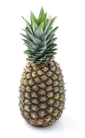 Pineapple isolated on white background. photo