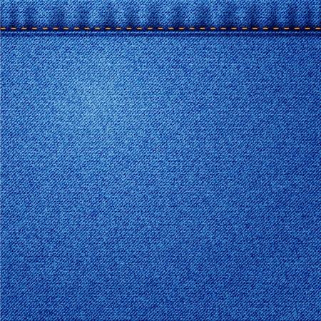 Illustration de jeans Vecteur texture de tissu