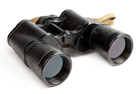 binoculars isolated on white background Stock Photo - 17452721