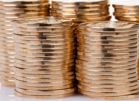 Many gold coins  Loose Change  photo