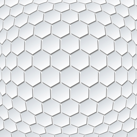 hexahedron: Illustration of Abstract Hexahedrons Design Background  Vector  Illustration
